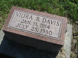 Mrs Viora Belle <i>Connard</i> Davis