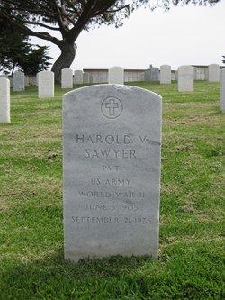 Pvt Harold V. Sawyer
