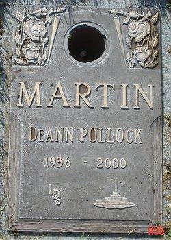 DeAnn <i>Pollock</i> Martin