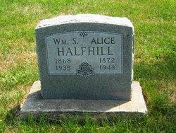 Alice <i>Hutchinson</i> Halfhill