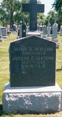Mary Barbara Mamie Matern