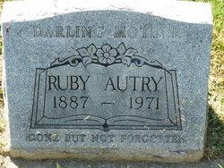 Ruby Elizabeth <i>Nall</i> Autry