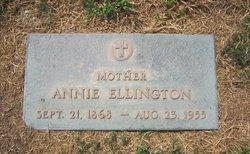 Johanna Annie <i>Bradford</i> Ellington