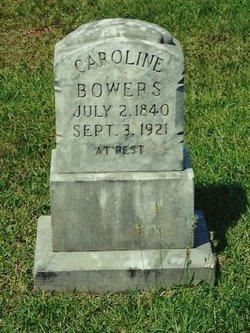 Caroline <i>James</i> Bowers