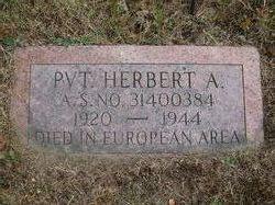 Pvt Herbert A. Edwards