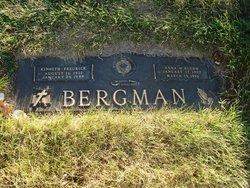 Anna M <i>Roehm</i> Bergman