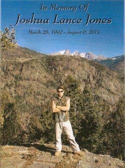 Joshua Lance Josh Jones