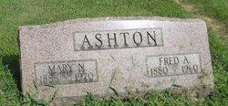 Fred A Ashton