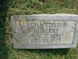 Vona Edna <i>Foster</i> Auberry