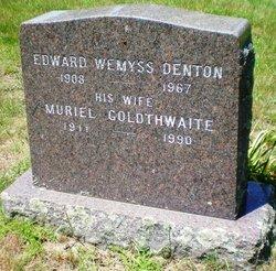 Muriel <i>Goldthwaite</i> Denton