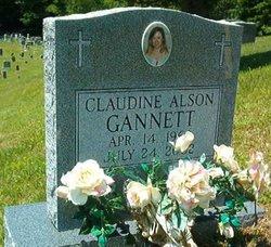 Claudine <i>Alson</i> Gannett