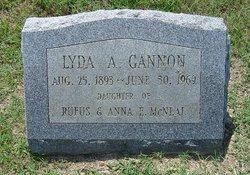 Lydia <i>McNeal</i> Gannon