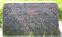 Rachel <i>Potter</i> Greenland