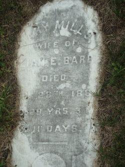 Mary <i>Mills</i> Barber