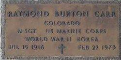 Raymond Burton Carr