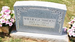 Willie Green <i>Burks</i> Camden