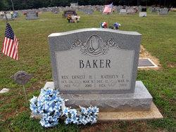 Kathryn E. <i>Webster</i> Baker