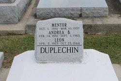 Mentor Duplechin