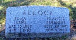 Francis <i>Simmons</i> Alcock