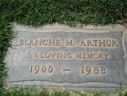 Blanche Marguerite <i>Marvin</i> Arthur