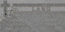 Frank Joseph Lang