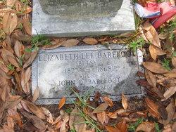 Elizabeth Lee <i>Lee</i> Barefoot