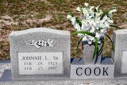 Johnnie L Cook, Sr