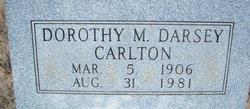 Dorothy Madeline <i>Darsey</i> Carlton