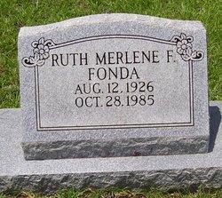Ruth Merlene <i>Fornea</i> Fonda