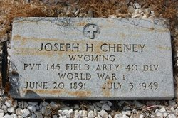 Joseph Howard Cheney