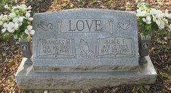 Frances Marion France Love