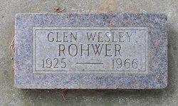 Glen Wesley Rohwer