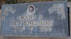 Mary Pedrouzo <i>Mattos</i> Bettencourt
