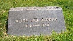 Alice Bird <i>Jex</i> Barker