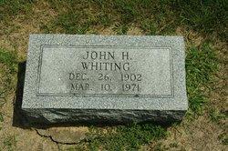 John H Whiting