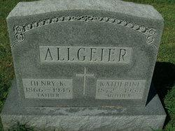 Henry K Allgeier