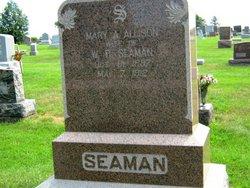Mary A <i>Allison</i> Seaman