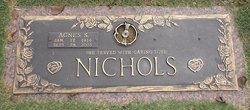 Agnes Aggie <i>Swafford</i> Nichols