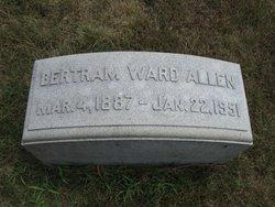 Bertram <i>Ward</i> Allen