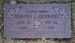 Dorothy J <i>Talkington</i> Abernathy