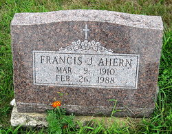 Francis J Ahern