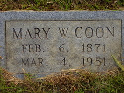 Mary Parthina <i>Wiggins</i> Coon