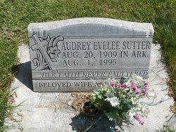 Audrey Evelee Sutter