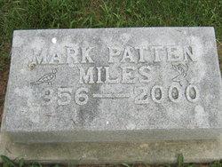 Mark Patten Miles