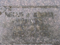 Nellie L. <i>Kinney</i> Moats
