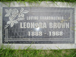 Mrs Leonora Bell Nonie <i>Griffin</i> Brown