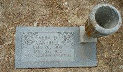 Vera Debbie <i>Cox</i> Cantrell