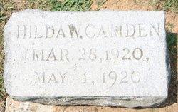 Hilda W Camden