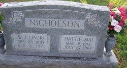 Hattie Mai <i>White</i> Nicholson