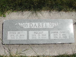 August Dabel